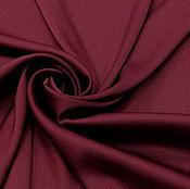 Ткани ручной работы. Ярмарка Мастеров - ручная работа Ткань Армани шелк с эластаном винный. Handmade.