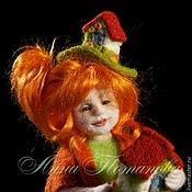 ручной работы. Ярмарка Мастеров - ручная работа Авторская войлочная кукла Домовушка Ингрит. Handmade.