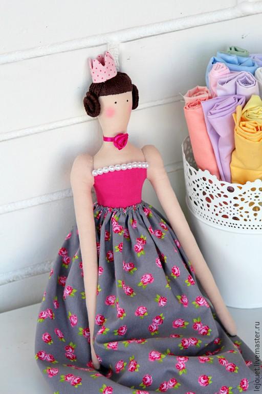 Куклы Тильды ручной работы. Ярмарка Мастеров - ручная работа. Купить Тильда принцесса Клара. Handmade. Тильда принцесса