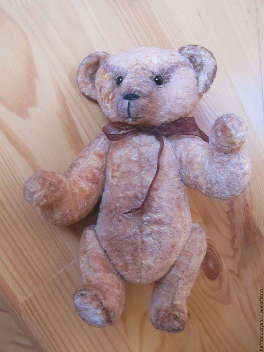 Мишка Тедди Топтыжка, песочно-коричневый, 21 см.