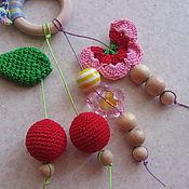 Куклы и игрушки ручной работы. Ярмарка Мастеров - ручная работа Кольцо-грызунок. Handmade.