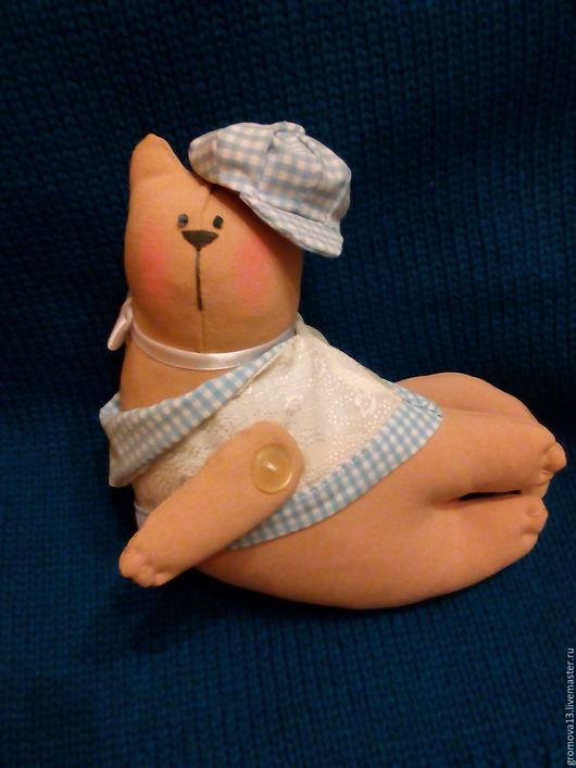 """Куклы Тильды ручной работы. Ярмарка Мастеров - ручная работа. Купить кот тильда """"Филипп"""". Handmade. Бежевый, кот текстильный"""