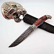 Сувениры и подарки handmade. Livemaster - original item Jaguar Knife. Handmade.