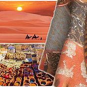 """Аксессуары ручной работы. Ярмарка Мастеров - ручная работа Палантин """"Марокко"""". Handmade."""