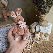 Куклы и игрушки ручной работы. Ярмарка Мастеров - ручная работа Зайчик вязаный. Handmade.