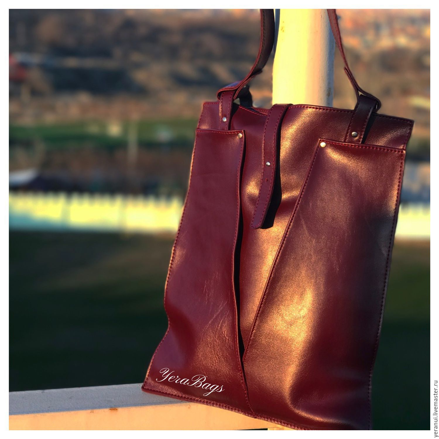 Leather bag pack-Lily, Classic Bag, Yerevan,  Фото №1