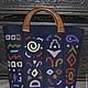 """Женские сумки ручной работы. Ярмарка Мастеров - ручная работа. Купить Валяная  сумка """" Знаки, символы...загадки"""" (или РеалОт). Handmade."""