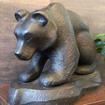 Для дома и интерьера ручной работы. Ярмарка Мастеров - ручная работа Медведь. Handmade.