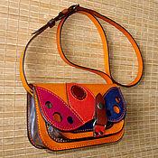 Сумки и аксессуары handmade. Livemaster - original item Multi-colored adult handbag.. Handmade.