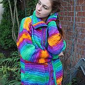 """Одежда ручной работы. Ярмарка Мастеров - ручная работа Кофта """"Rainbow"""". Handmade."""