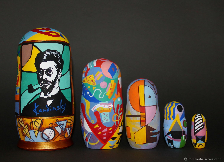 Matryoshka Kandinsky (option), Dolls1, St. Petersburg,  Фото №1
