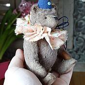 Куклы и игрушки ручной работы. Ярмарка Мастеров - ручная работа мишка `Олаф (13 см сидя). Handmade.