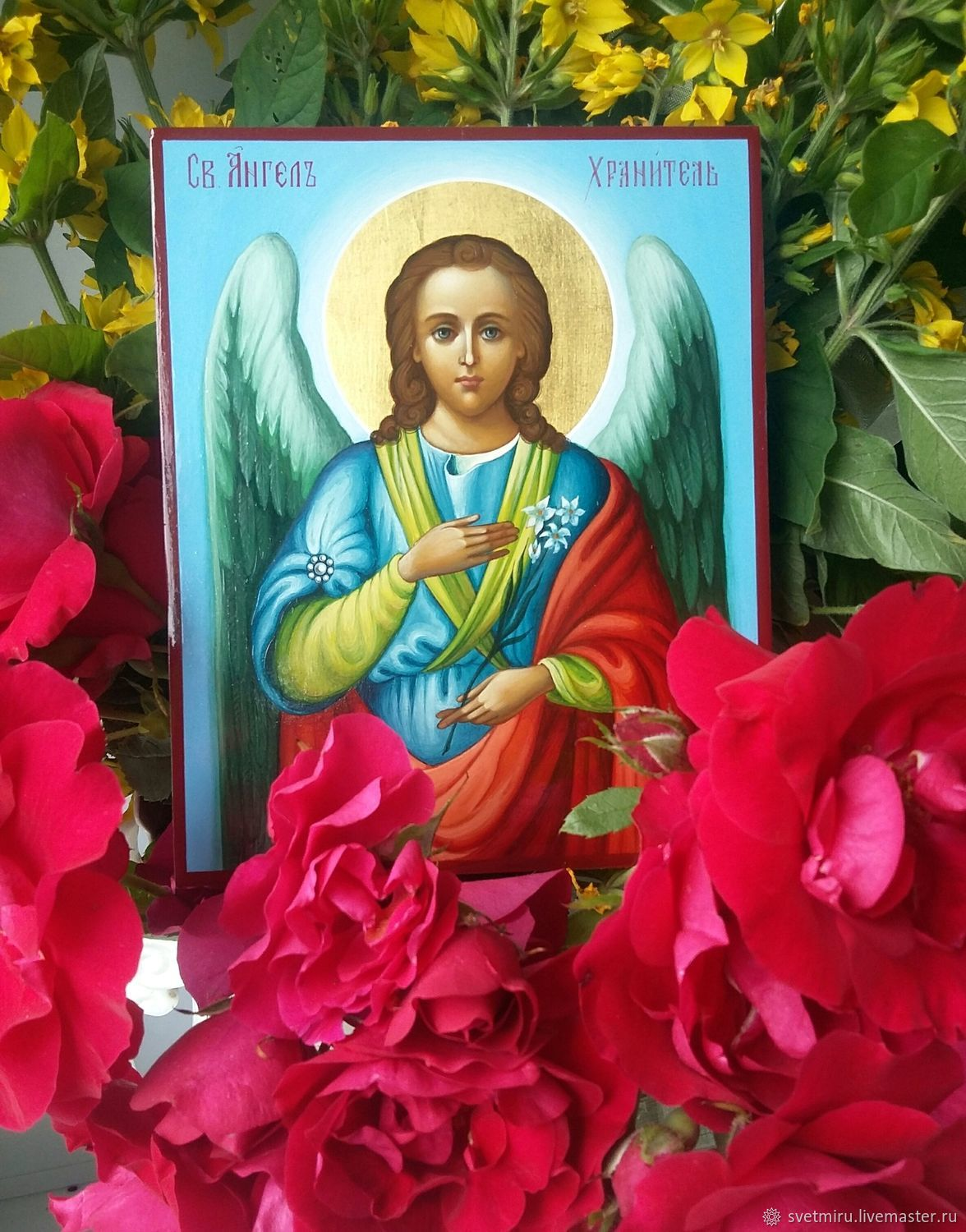 The Holy Guardian angel is an icon of painting Pending!, Icons, St. Petersburg,  Фото №1
