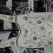 Одежда ручной работы. Ярмарка Мастеров - ручная работа Топ, расшитый камнями. Handmade.