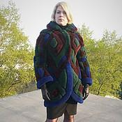 Одежда ручной работы. Ярмарка Мастеров - ручная работа Жакет из цветной овчины. Handmade.