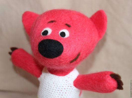 """Игрушки животные, ручной работы. Ярмарка Мастеров - ручная работа. Купить Лисичка из мультфильма """"Ми-ми-мишки"""". Мимимишки.. Handmade."""