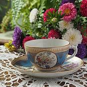 Винтаж handmade. Livemaster - original item Tea couple early Tips, Dulevo, export brand. Handmade.