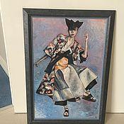 Картины и панно ручной работы. Ярмарка Мастеров - ручная работа Тансовщица. Handmade.
