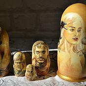 Русский стиль handmade. Livemaster - original item Matryoshka Game Of Thrones. Handmade.