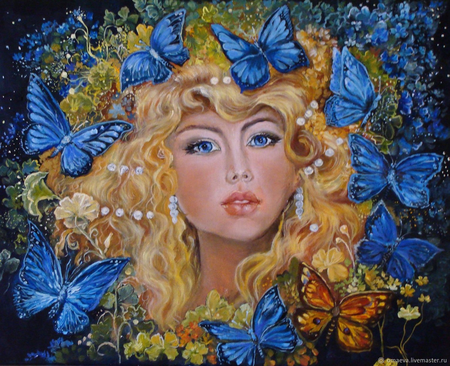 'Butterfly fairy'oil Painting, Pictures, Nizhny Novgorod,  Фото №1