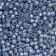 Японский бисер TOHO, размер 11/0. \r\nTR-11-2102\r\nSilver-Lined Milky Montana Blue\r\nВнутреннее серебрение молочный монтана.\r\nЦена указана за 10 грамм.