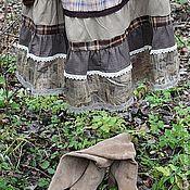 """Одежда ручной работы. Ярмарка Мастеров - ручная работа Длинная юбка бохо """"Козетта"""". Handmade."""