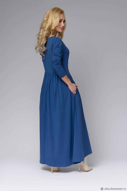 b7ca4de716f Платья ручной работы. Ярмарка Мастеров - ручная работа. Купить Трикотажное  платье ЕВРОПА.