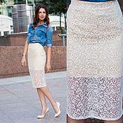 Одежда handmade. Livemaster - original item Skirt Lace