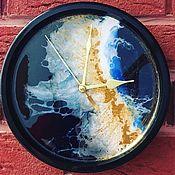 Часы классические ручной работы. Ярмарка Мастеров - ручная работа Часы ,, Вселенная,,. Handmade.