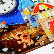 Для дома и интерьера ручной работы. Ярмарка Мастеров - ручная работа Городской роман-с. Часы. Handmade.