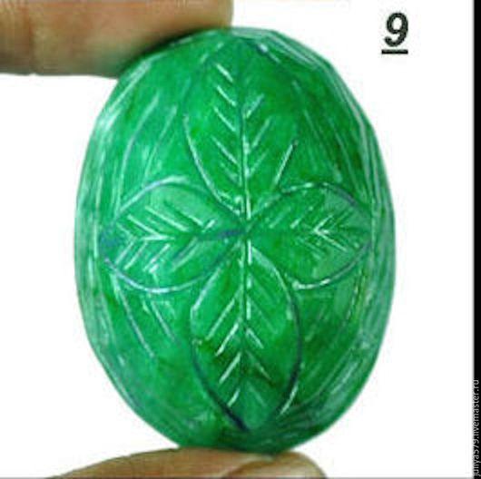 Для украшений ручной работы. Ярмарка Мастеров - ручная работа. Купить Натуральный зеленый изумруд 161,90 карат. Handmade.