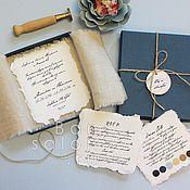 Свадебный салон ручной работы. Ярмарка Мастеров - ручная работа Приглашение с конвертом ПР-107. Handmade.