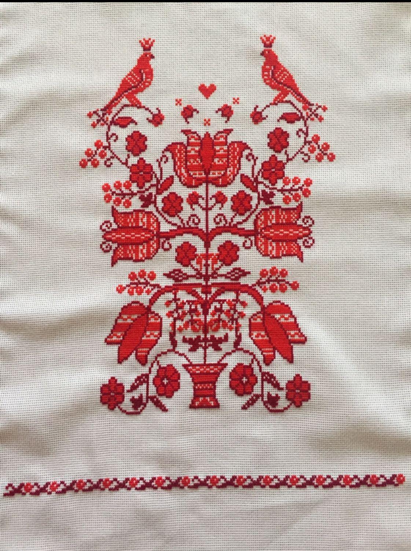 Вышитый рушник ручной работы 185 Х 34 см, Свадебные аксессуары, Ровно, Фото №1