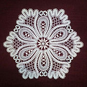 Для дома и интерьера handmade. Livemaster - original item Doily lace. Vyatka lace, Vologda lace.. Handmade.