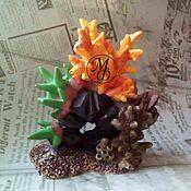 Материалы для творчества ручной работы. Ярмарка Мастеров - ручная работа Силиконовая форма Кораллы. Handmade.