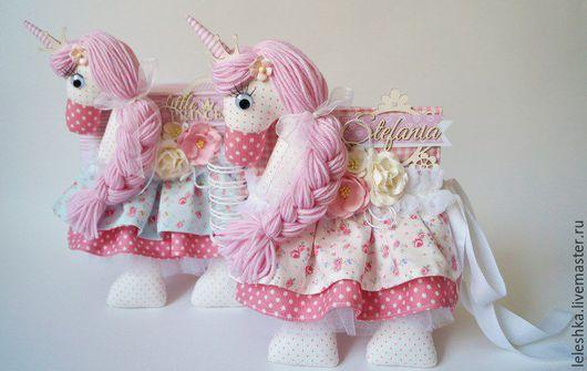 Подарки для новорожденных, ручной работы. Ярмарка Мастеров - ручная работа. Купить Комплект  для принцессы. Handmade. Альбом для фото, единорог
