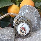 Украшения handmade. Livemaster - original item brooch white rabbit. Handmade.