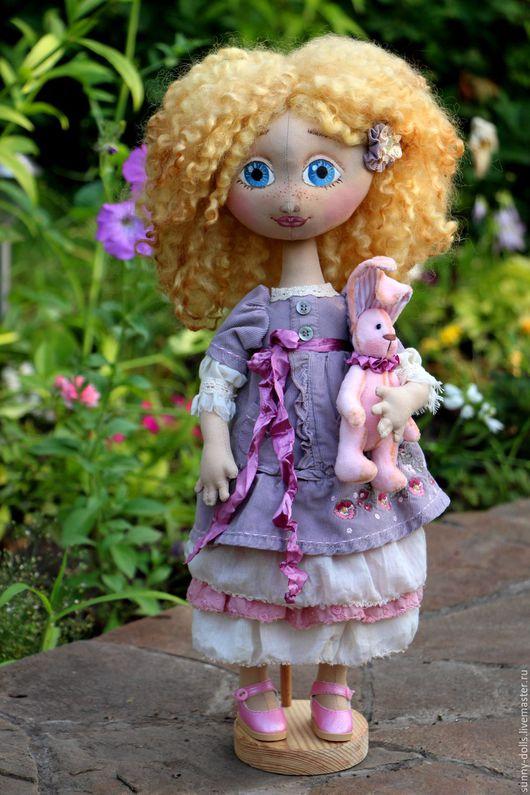 Коллекционные куклы ручной работы. Ярмарка Мастеров - ручная работа. Купить Николь. Handmade. Комбинированный, коллекционная кукла, interior dolls