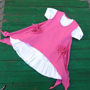 Товары для малышей ручной работы. Ярмарка Мастеров - ручная работа Платье для девочки в стиле бохо. Handmade.