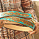 Women's leather belt handmade. Straps. schwanzchen. My Livemaster. Фото №6