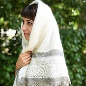 Аксессуары handmade. Livemaster - original item 205 down shawl Orenburg shawl, down shawl. Handmade.