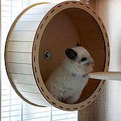 Вольеры ручной работы. Ярмарка Мастеров - ручная работа Беговое колесо 30 см для некрупных пород грызунов. Handmade.