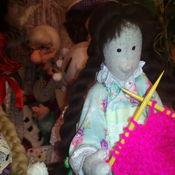 Для дома и интерьера ручной работы. Ярмарка Мастеров - ручная работа Куклы рукодельницы. Handmade.