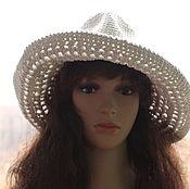 Аксессуары handmade. Livemaster - original item Cowboy hat made of cotton. Handmade.