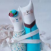 Наборы ручной работы. Ярмарка Мастеров - ручная работа Подарки: Коты-Неразлучники. Handmade.