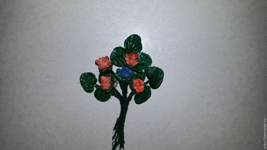 Брелоки ручной работы. Ярмарка Мастеров - ручная работа. Купить Бутоньерка. Handmade. Комбинированный, цветочный, бутоньерка, варфор, масло, шёлк