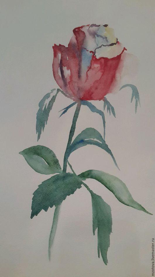 Картины цветов ручной работы. Ярмарка Мастеров - ручная работа. Купить Королева. Handmade. Роза, цветок, чайная роза, рисунок
