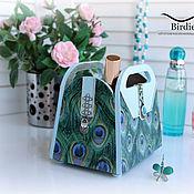 Для дома и интерьера handmade. Livemaster - original item Mini-dressers: Bag-stand