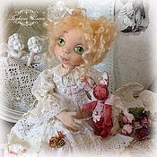 Куклы и игрушки ручной работы. Ярмарка Мастеров - ручная работа Маняша, коллекционная текстильная куколка. Handmade.