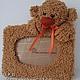 Order Photo frame with bear. PusharikiToys. Livemaster. . Photo frames Фото №3